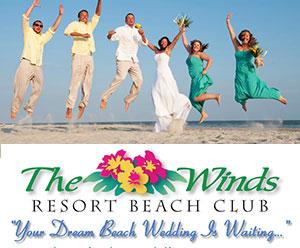 The Winds Resort Oceanfront Beach Weddings Ocean Isle Beach NC
