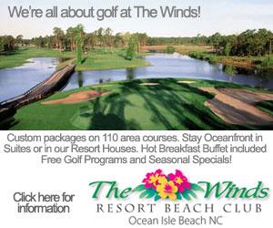 Ocean Isle Beach NC Golf